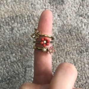 Juicy Couture Stacking Rings